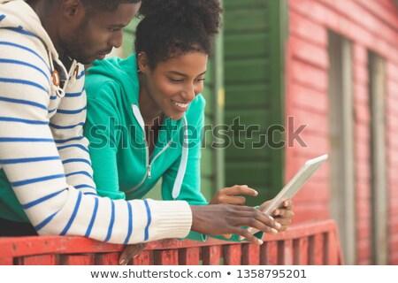 Cute jonge paar Stockfoto © wavebreak_media