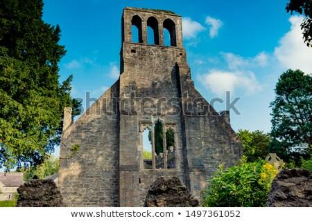 Igreja ruínas castelo Irlanda verde viajar Foto stock © borisb17