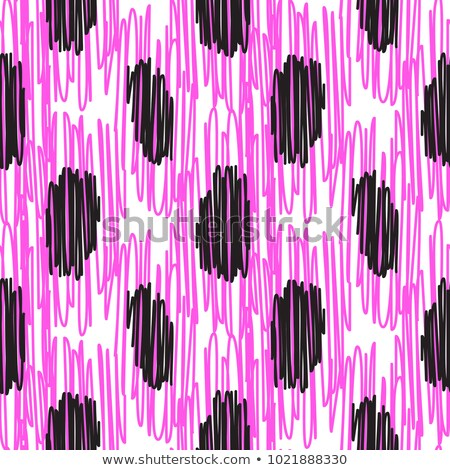 Pink embroidered rough dots pattern vector. Stock photo © yopixart