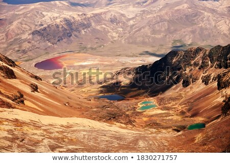 Different colored mountains Stock photo © olira