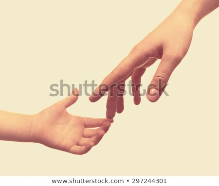 To keep for hands, mother and child Stock photo © Paha_L