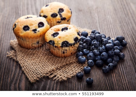 chocolade · muffins · collectie · vers · cake - stockfoto © toaster