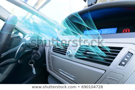 Car air conditioning controls Stock photo © RTimages
