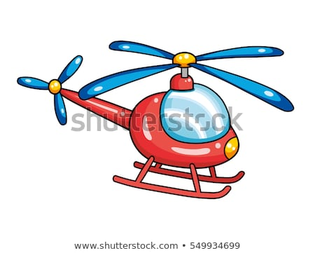 Cartoon Helicopter Stock photo © RAStudio