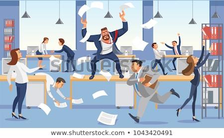 Hel baan gebouw handdruk industrie team Stockfoto © photography33