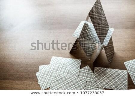 domu · metafora · ilustracja · projektu · biały · rodziny - zdjęcia stock © rufous