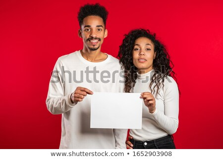 realtor holding sign Stock photo © photography33