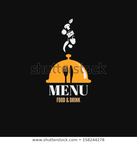 Chef eating fast-food and drinking wine Stock photo © photography33