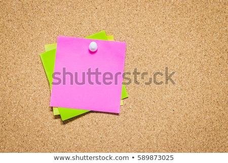 Cork memory board Stock photo © stevanovicigor