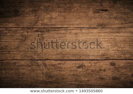 old wood background stock photo © pietus