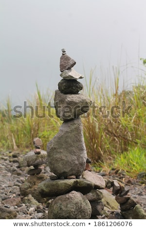 tower from pebbles 18 stock photo © lianem