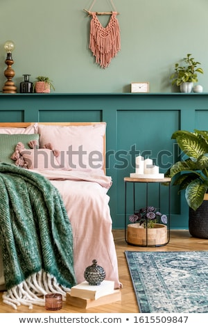 Stylish bedroom stock photo © epstock