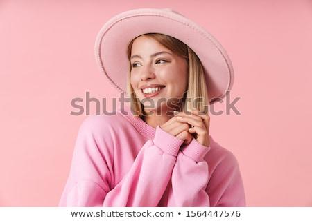 Cheerful young blonde Stock photo © acidgrey