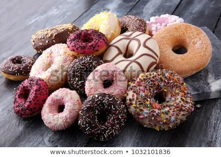 assorted of donuts stock photo © m-studio