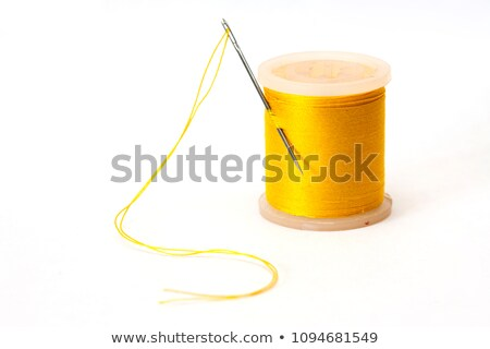 Coils of yellow threads Stock photo © Alenmax