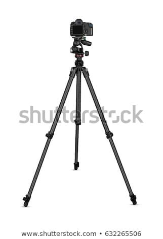 デジタル一眼レフ カメラ 孤立した 白 映画 ストックフォト © Mikko