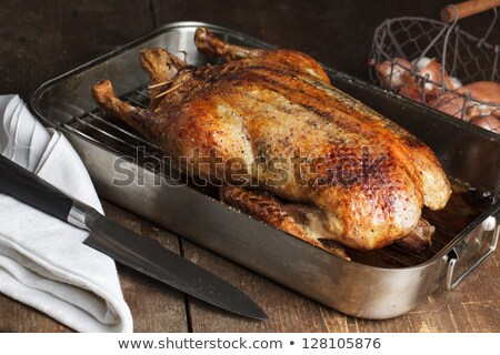 Roasted Barbery Duck Stock photo © nailiaschwarz