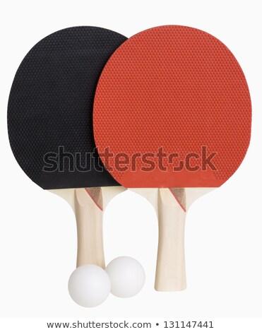 Ping-pong isolado branco arquivo fitness Foto stock © winterling