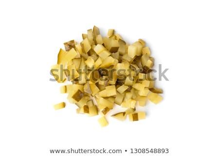 漬物 緑 木板 健康 野菜 野菜 ストックフォト © hlehnerer