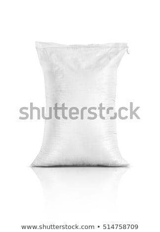 Műtrágya táska kép levél kosz újrahasznosít Stock fotó © cteconsulting