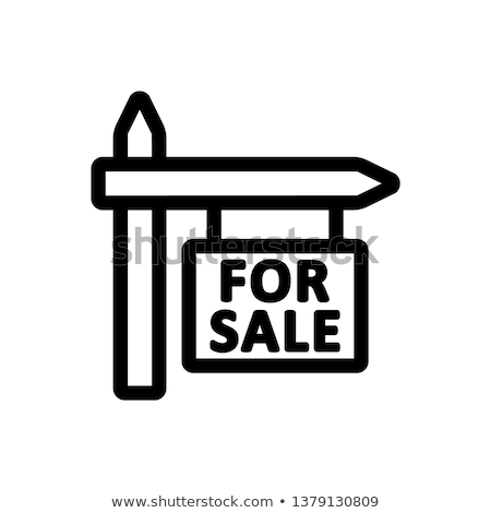 For Sale Sign Icon Stock photo © cteconsulting