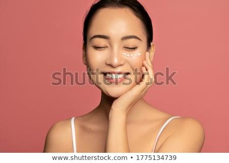 Asian skincare woman Stock photo © szefei