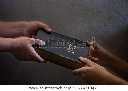 Sharing spiritual truth Stock photo © georgemuresan