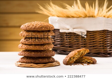 dietetic biscuits and milk Stock photo © mady70