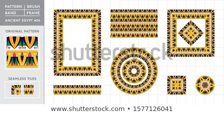 Egyptian Frame Stock photo © MasaMima