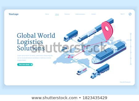 global shipping solutions stock photo © lightsource