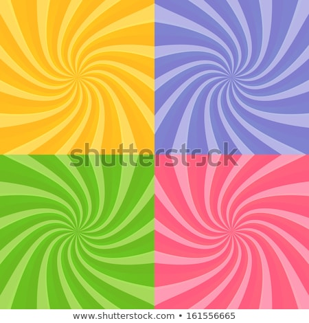 Stock photo: swirly burst