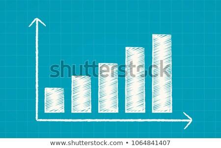 tableau · graphe · d'affaires · sombre · illustration · affaires · banque - photo stock © vankad