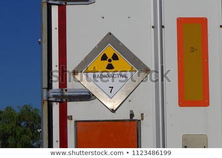 radioativo · símbolo · gelo · tecnologia · inverno · indústria - foto stock © wellphoto