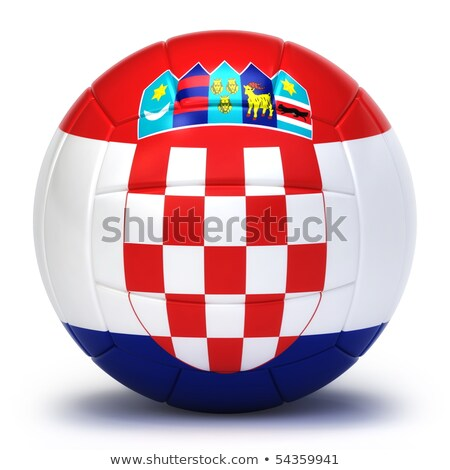 croatian volleyball team stock photo © bosphorus