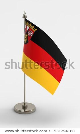Minyatür bayrak yalıtılmış toplantı arka plan Stok fotoğraf © bosphorus