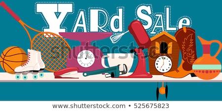 yard sale stock photo © alexeys
