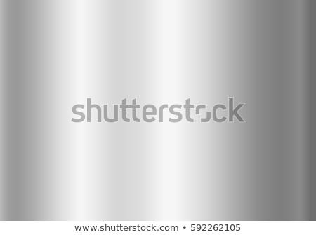 銀 · 画像フレーム · 現代 · 抽象的な · 金属 · 国境 - ストックフォト © saicle