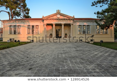 Town Hall in village on Cyprus Stock photo © mahout