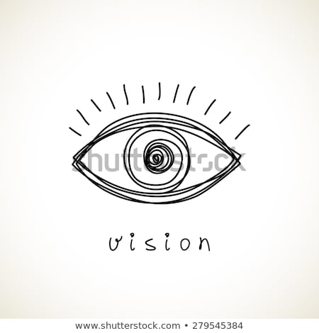 Contact lens business logo Stock photo © shawlinmohd