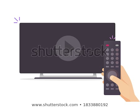 Changing TV channels Stock photo © Novic