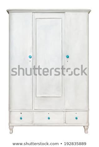 armário · porta · azul · portas · escola · secundária · trancado - foto stock © luckyraccoon