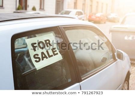 古い さびた 車 販売 歴史 ラベル ストックフォト © bmonteny