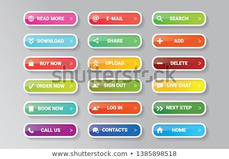Internet buttons collection 1 Stock photo © tilo
