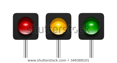 Traffic light icon one object Stock photo © aliaksandra
