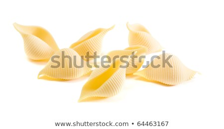 a few Conchiglie (seashells) pasta pieces  stock photo © Tamara_K