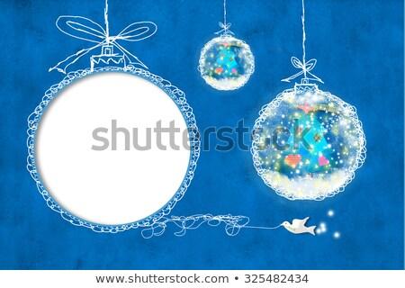 Сток-фото: Рождества · детей · Cute · Дать