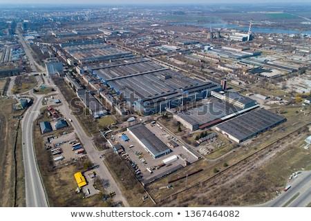 Ipari növény gyár technológia háttér fém Stock fotó © sarymsakov