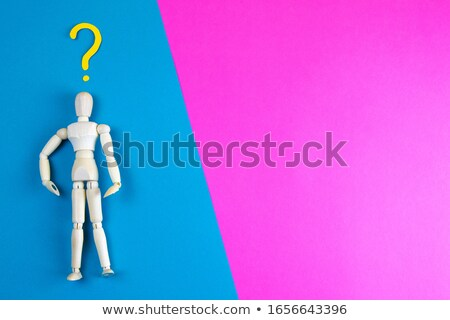 Manikins Questions Jump Stock photo © limbi007