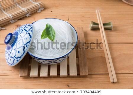 Mung bean vermicelli Stock photo © ozgur
