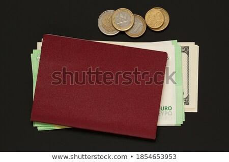 Bundled dollar banknotes, different denominations Stock photo © ozgur